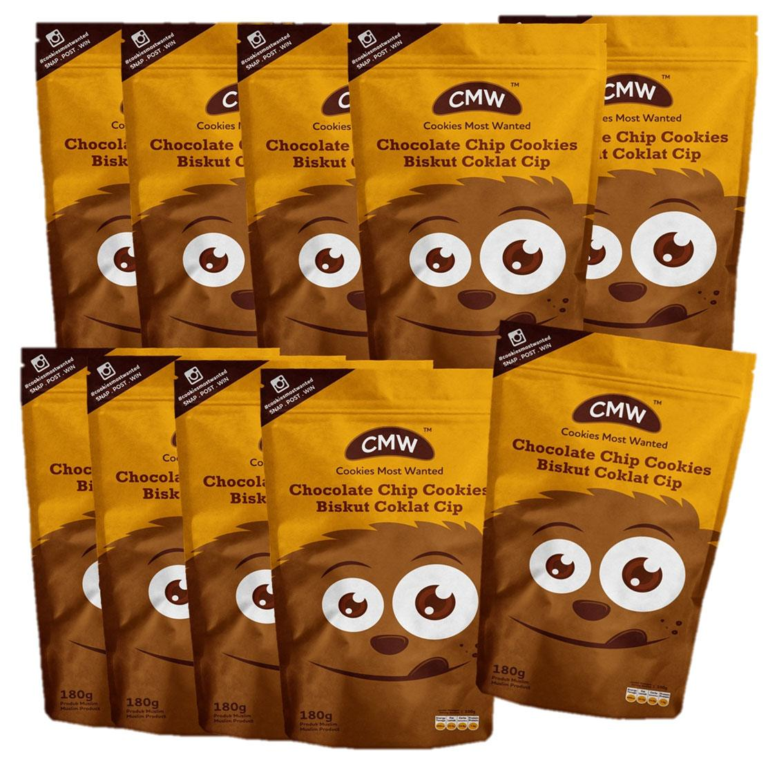 10 Packet CMW Chocolate Chip FREE 1 Packet RM150.00